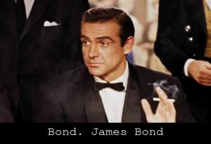 "Bond. James Bond."""