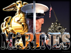 Marine Corps Quotes HD Wallpaper 13