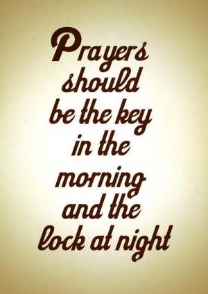 Morning Prayer Quotes & Sayings