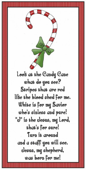 Candy Cane Christmas Quotes. QuotesGram