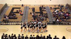 Enochs High School Cheer Varsity Senior Night Halftime 2014 More