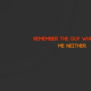 abstract minimalistic dark orange gray quotes inspirational 2560x1600 ...