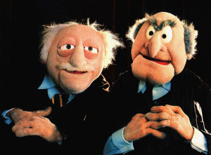 Statler and Waldorf Through the Years
