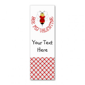 Valentine Sayings Business Cards