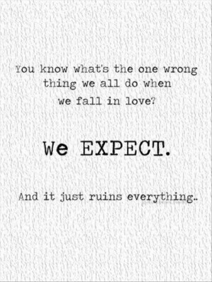 Inspirational And Life Lesson Quotes About Expectations