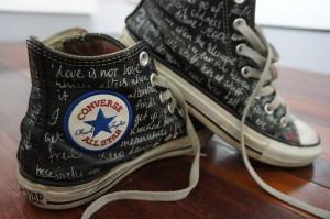 Converse Quotes Shoes Büyük Resimleri ve Fotoğrafları 33