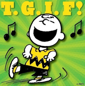 TGIF! Peanuts cartoon via www.Facebook.com/Snoopy