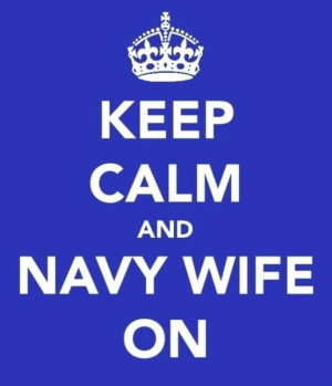 Navy Wife quote