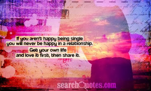 Being Single Quotes-10 of The best Feel Good Quotes For Being Single