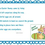 Preschool Christian Easter Poems