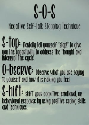 Stop negative self talk, @Bryce Esch Esch & @Connie Hamon Brzowski ...