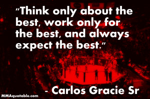 Grand Master Carlos Gracie Sr on Seeking the Best