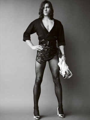 Ian Mellencamp shot by Mario Testino and styled by Carine Roitfeld for ...