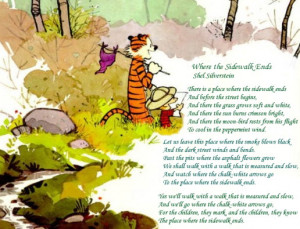 Runing Poems-Calvin and Hobbes Special
