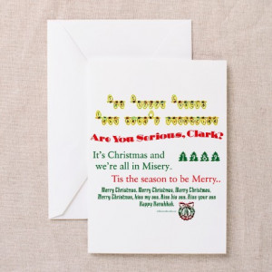 ... Greeting Cards > Griswold Christmas Fun Quotes Greeting Cards (Pk o