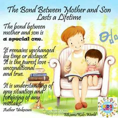 the bond between mother and son more child bond bw mom bond btwn bond ...