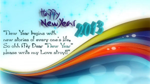 ... MMS, Happy New Year 2013 Messages and Happy New Year 2013 Quotes etc