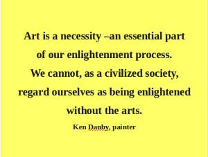 Artful Quote: Ken Danby - Day 141