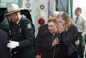 Funeral honors first of firefighter victims