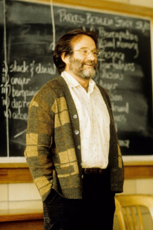 Robin Williams as Sean Maguire in Good Will Hunting