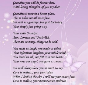 quotes about death of a grandmother