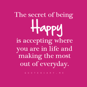 Quotes About Being Happy pics