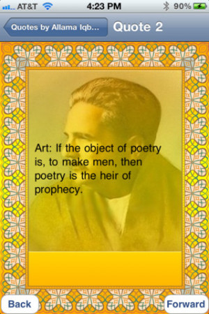 Allama Iqbal English Quotes