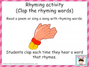 rhyming clap Bff Poems That Rhyme