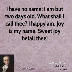 William Blake Love Quote