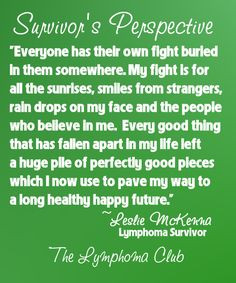 Cancer Survivor's Fight For Sunrises quote. #Lymphoma # ...