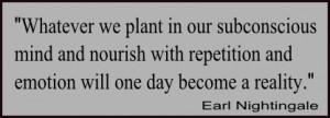 Subconscious quote