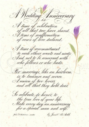Wedding Anniversary is a Time of Celebration – Anniversary Quote