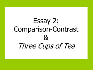 Quotes for comparison essay