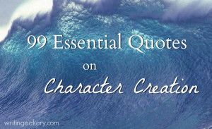 Character creation is an art of many hues and tones. There isn't any ...