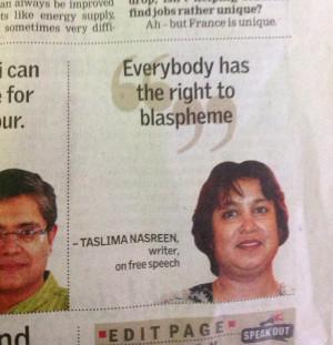Taslima Nasrin Blog...