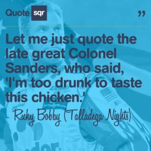 ... .' - Ricky Bobby (Talladega Nights) #quotesqr #quotes #funnyquotes