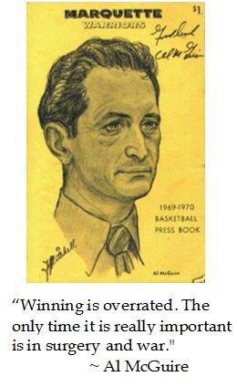 Al McGuire puts winning into context