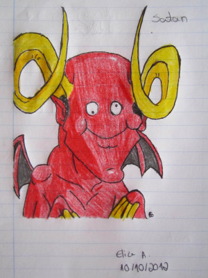 Satan from Leo and Satan by GreenDayFanGirl
