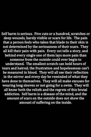Tumblr Quotes About Cutting