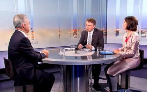 Bundespräsident Fischer in der ORF-Pressestunde