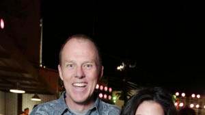 Director and screenplay writer Brian Helgeland and Warner Bros Sue