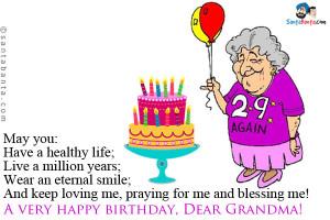 Grandma Birthday Quotes