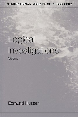 """... Investigations, Vol 1 (International Library of Philosophy)"""" as Want"""