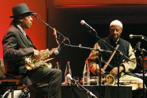 Yusef Lateef alias William Huddleston(92) beschloss das Enjoy-Festival ...
