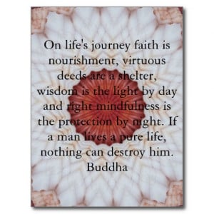 buddha_inspirational_quote_lifes_journey_faith_postcard ...