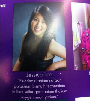 Creative High Schooler Sneaks Biggie Quote Into Yearbook via Nerd Code