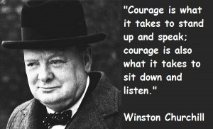 Continue reading these famous Winston Churchill quotes about courage