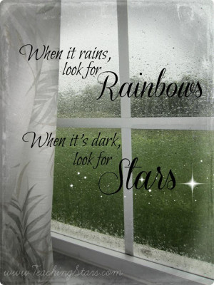 When it Rains, Look for Rainbows . . . Homeschooling on Rainy Days