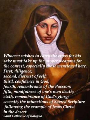 St. Catherine of Bolgona Quote