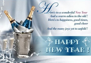 new year hope this year bring happiness for you dear